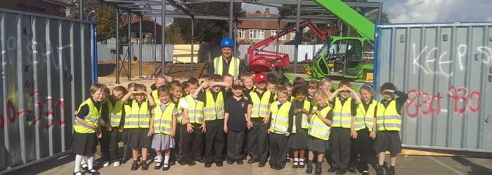 Year 1 Visit a Building Site