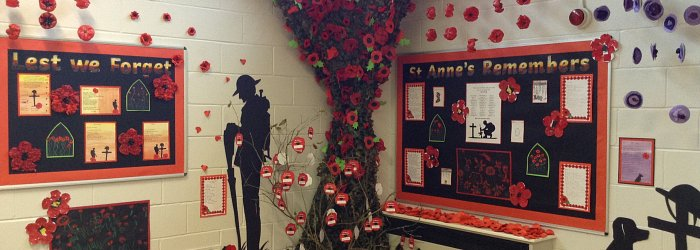 St Anne's Remembers - Remembrance 100