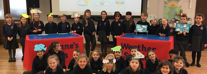 Y2 Celebration Assembly - Weather Watch
