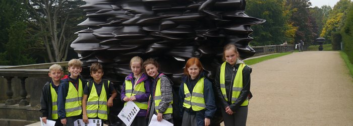 Y6 Trip to Yorkshire Sculpture Park